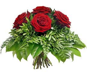 Kastamonu çiçek mağazası , çiçekçi adresleri  5 adet kırmızı gülden buket