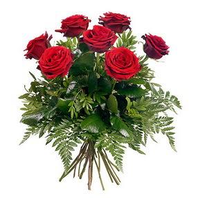 Kastamonu online çiçek gönderme sipariş  7 adet kırmızı gülden buket