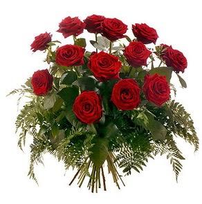 Kastamonu internetten çiçek satışı  15 adet kırmızı gülden buket
