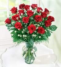 Kastamonu internetten çiçek satışı  9 adet mika yada vazoda kirmizi güller