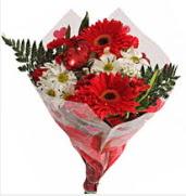 Mevsim çiçeklerinden görsel buket  Kastamonu çiçekçiler