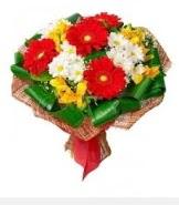 1 demet karışık buket  Kastamonu hediye sevgilime hediye çiçek
