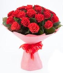 15 adet kırmızı gülden buket tanzimi  Kastamonu çiçek siparişi sitesi