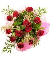 12 adet kırmızı gül buketi  Kastamonu 14 şubat sevgililer günü çiçek