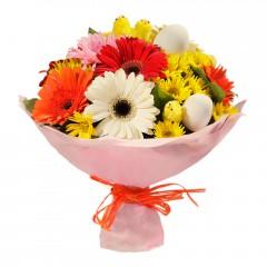 Karışık mevsim buketi Mevsimsel çiçek  Kastamonu internetten çiçek siparişi