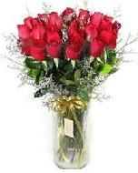27 adet vazo içerisinde kırmızı gül  Kastamonu İnternetten çiçek siparişi