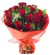 12 adet görsel bir buket tanzimi  Kastamonu çiçek siparişi vermek