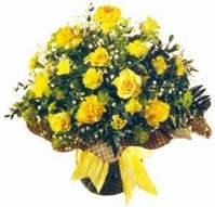 Kastamonu çiçek , çiçekçi , çiçekçilik  Sari gül karanfil ve kir çiçekleri
