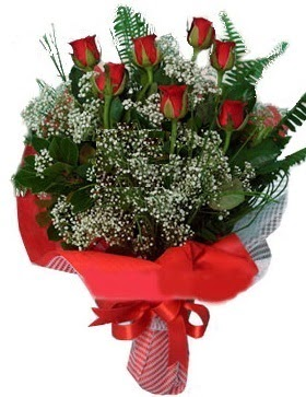 7 kırmızı gül buketi  Kastamonu çiçek servisi , çiçekçi adresleri