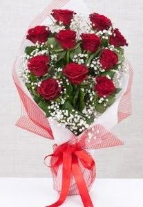 11 kırmızı gülden buket çiçeği  Kastamonu 14 şubat sevgililer günü çiçek