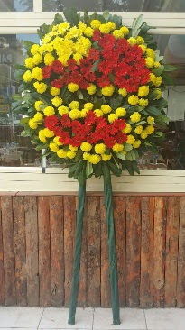 Cenaze çelengi çiçek modeli  Kastamonu çiçek mağazası , çiçekçi adresleri
