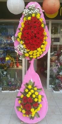 Çift katlı düğün nikah açılış çiçek modeli  Kastamonu çiçekçiler