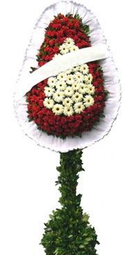 Çift katlı düğün nikah açılış çiçek modeli  Kastamonu İnternetten çiçek siparişi