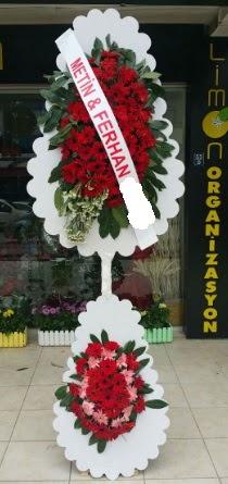 Çift katlı düğün nikah çiçeği modeli  Kastamonu çiçek siparişi sitesi