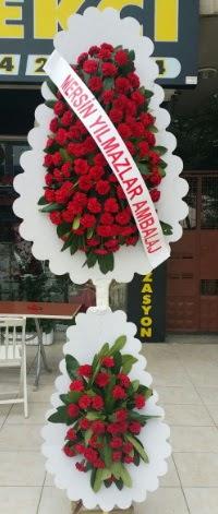 Çift katlı düğün nikah çiçeği modeli  Kastamonu hediye çiçek yolla