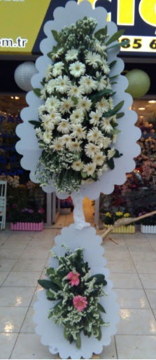 Çift katlı düğün nikah açılış çiçeği  Kastamonu çiçekçi telefonları
