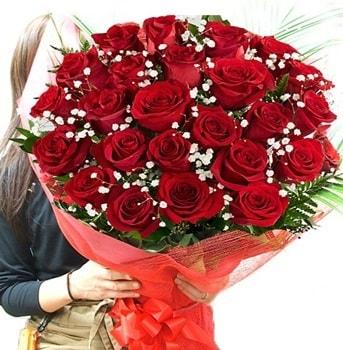 Kız isteme çiçeği buketi 33 adet kırmızı gül  Kastamonu çiçek gönderme sitemiz güvenlidir