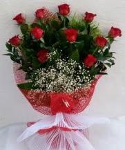 11 adet kırmızı gülden görsel çiçek  Kastamonu çiçek satışı