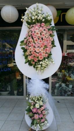 Çift katlı özel şahane sepet çiçeği  Kastamonu çiçekçi telefonları