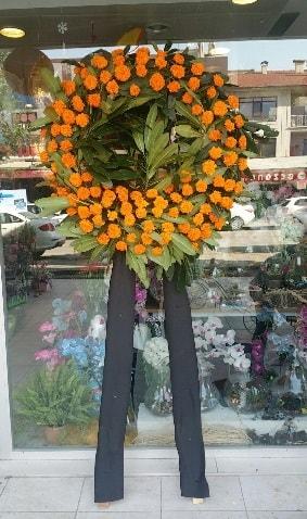 Cenaze çiçeği cenaze çelengi çiçek modeli  Kastamonu çiçek gönderme