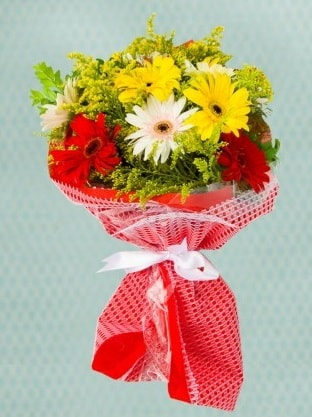 Karışık Gelbera Buketi  Kastamonu çiçek siparişi sitesi