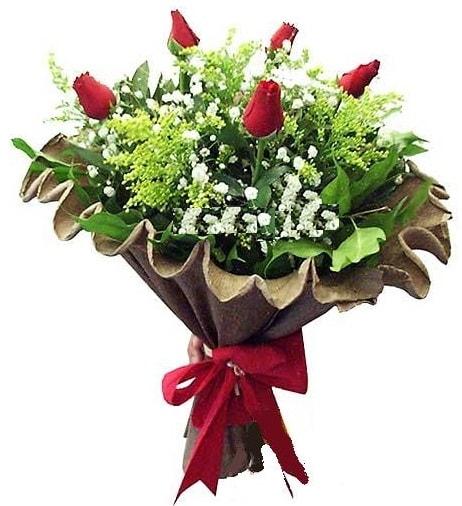5 adet gülden buket  Kastamonu çiçek gönderme sitemiz güvenlidir
