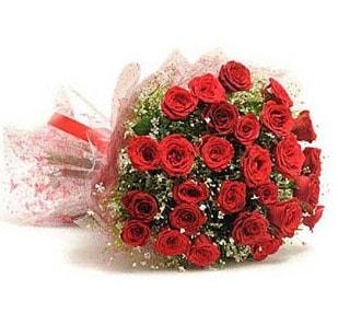 27 Adet kırmızı gül buketi  Kastamonu ucuz çiçek gönder