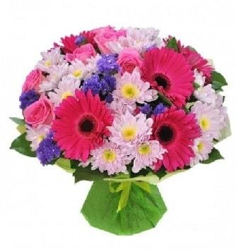 Karışık mevsim buketi mevsimsel buket  Kastamonu çiçek satışı