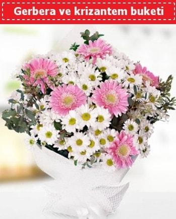 Papatya ve Gerbera Buketi  Kastamonu çiçek , çiçekçi , çiçekçilik